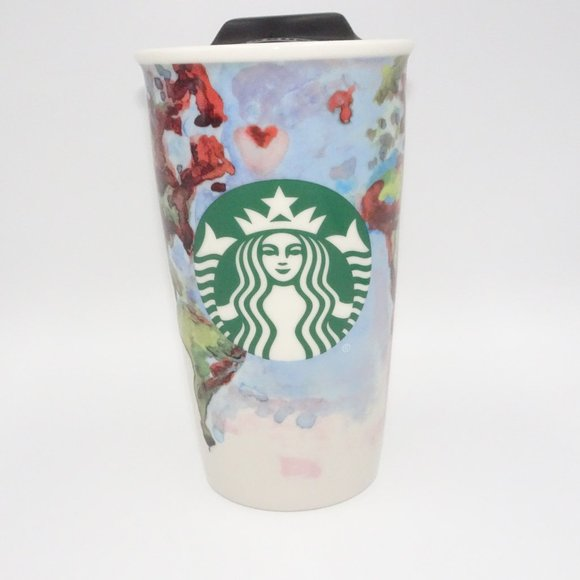 Starbucks 2015 Kregel Watercolor 12 oz Tumbler